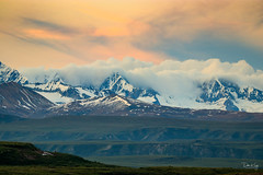 Evening Sky Alaskan Style (Dan King Alaskan Photography) Tags: scenic evening mountains alaskarange camping interioralaska alaska denalihighway canon80d sigma150600mm