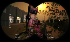 Military Sunset (Mei-Mei Chan) Tags: military army anime cute kawaii uniform cat neko