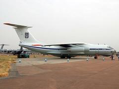 78820 ILyushin IL-76MD of Ukrainian Air Force (johnyates2011) Tags: fairford raffairford riat riat2018 78820 ilyushin ilyushinil76 ukrainianairforce il76