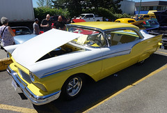1957 Ford Fairlane (D70) Tags: sony dscrx100m5 ƒ56 89mm 1640 125 kms tools 23rd annual charity show shine 1957 ford fairlane kmstools 23rdannual charityshowshinecoquitlam britishcolumbia canada