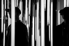 strangers in the n...light (Blende1.8) Tags: shopwindow window schaufenster darkness light blackandwhite schwarzweiss crime crimestory antwerpen antwerp sony alpha ilce7m3 a7m3 a7iii sel1224g 1224mm monochrome mono monochrom black white carstenheyer schaufensterpuppen