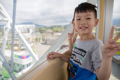 628A7672 (中古的995) Tags: 兒童新樂園 兒童樂園 摩天輪 碰碰船