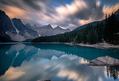 Moraine Lake (Margarita Genkova) Tags: rockymountains water reflection nature landscape banffnationalpark morainelake