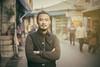 Jamyang (andy_8357) Tags: sony a6000 6000 ilcenex ilce6000 canon fd 50mm f14 street photography portraiture kind tibetan student gentleman dharamsala mccleod ganj india refugee community dharma buddhist buddhism dalai lama compassion kindness mirrorless alpha moustasche beard goatee handsome man young