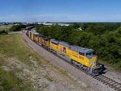 UP 3072 - Denison TX (KB5WK) Tags: unionpacific up3072 uprr