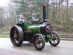 """Burrell Traction Engine 2093 """"Duke of Ongar"""" (Terry Pinnegar Photography) Tags: beamish museum countydurham steam vintage traction engine no6881 dukeofongar burrell 2093 victorian"""