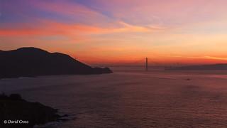 Sunrise at the Golden Gate