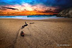 sadness of the evening  / 2806180412 (devadipmen) Tags: beach blacksea istanbul kabakozvillage landscapephotographer naturephotographer sunset şile türkiye