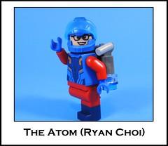 The Atom (-Metarix-) Tags: lego minifig dc comics comic atom rebirth ryan choi universe the shrink ray palmer