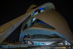 Ciudad de las Artes y las Ciencias, Valencia (Jose Antonio Abad) Tags: agua joséantonioabad paisajeurbano noche pública valencia arquitectura españa comunidadvalenciana valència es