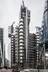 (ilConte) Tags: london londra uk unitedkingdom lloydsoflondon richardrogers england inghilterra architettura architektur architecture