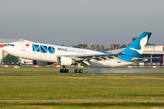 TC-MNV (Andras Regos) Tags: aviation aircraft plane fly spotter spotting bud lhbp landing mng cargo freighter