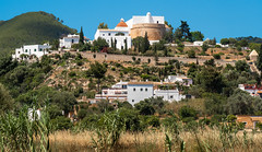 Puig de Missa, Catholic Church on the hill. . . (CWhatPhotos) Tags: cwhatphotoschurch puigdemissa catholic puig de missa photographs photograph pics pictures pic picture image images foto fotos photography artistic that have which contain olympus camera holiday holidays hols hol june 2018 ibizan ibiza santaeulariadesriu santa eularia east eastern