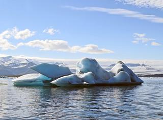 Laguna Jokulsarlon en el glaciar Vatnajokull  Islandia 33