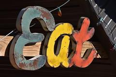Uranus, Missouri (Adventurer Dustin Holmes) Tags: uranusmo uranusmissouri missouri route66 missouri66 us66 pulaskicounty saintrobertmo strobertmo eat old antique sign signs multicolored colorful rusty rusted rusting