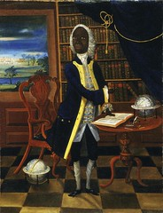 Unknown Portrait of Francis Williams, Scholar of Jamaica European School (c. 1745) Oil on Canvas, 66 x 50.1 cm. There were conventions in representing scholarly men, and the artist has used several of them here. Williams is shown as a scholar in his book- (medievalpoc) Tags: art history portrait francis williams medievalpoc 1700s scholar academia jamaica