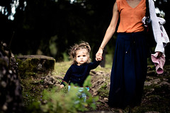 Family moment (Zeeyolq Photography) Tags: baby mother girl child family nature france