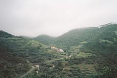 Manarola (cranjam) Tags: ricoh gr1 gr1v film kodak portra160 italy italia cinqueterre liguria manarola clouds nuvole