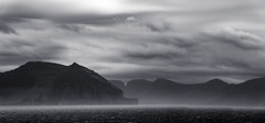 The Faroe Islands (Mustang Joe) Tags: 2018 island cruise d750 nikon faroe hattarvík northernisles faroeislands fo black white landscape