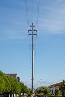 Stylish transmission tower