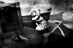 The Prayer (2) (Miss Belua) Tags: art ai artificialintelligence surreal nightmare dream utopia dystopia bw