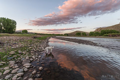 IMGP3354-Edit (Matt_Burt) Tags: cooperwest dog canyon clouds gunnisonriver luna reflection sunset water