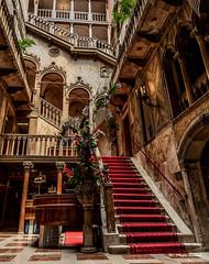 Famous Hotel Danieli (Magda Banach) Tags: canon canoneos5dmarkiv hoteldanieli italy wenecja włochy architecture buildings city colors staircase stairs venice venezia veneto it old