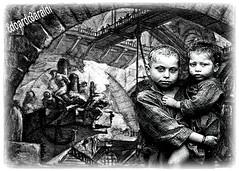 CARCERI (edoardo.baraldi) Tags: trump usa immigrati bambini piranesi