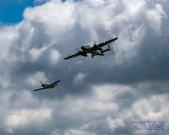 .@FlyingHeritage P-40C and B-25J Against the Clouds (AvgeekJoe) Tags: b25 b25mitchell b25j b25jmitchell buster curtissp40 curtissp40tomahawk curtissp40c curtissp40ctomahawk d5300 dslr fhc fhcnorthamericanb25jmitchell fhcam flyingheritagecollection flyingheritageandcombatarmormuseum nikon nikond5300 northamericanb25 northamericanb25mitchell northamericanb25j northamericanb25jmitchell p40 p40tomahawk p40c p40ctomahawk warbirds aircraft airplane aviation plane propblur radial radialengine soundofround warbird warplane
