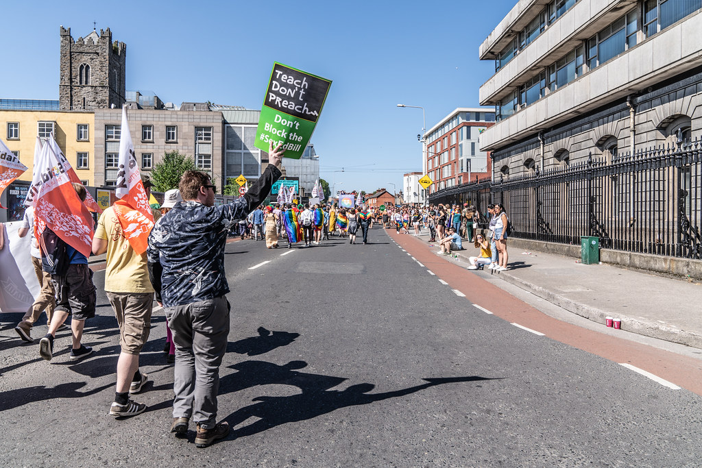 ABOUT SIXTY THOUSAND TOOK PART IN THE DUBLIN LGBTI+ PARADE TODAY[ SATURDAY 30 JUNE 2018] X-100014