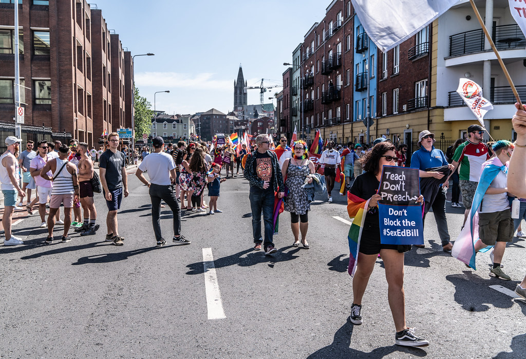 ABOUT SIXTY THOUSAND TOOK PART IN THE DUBLIN LGBTI+ PARADE TODAY[ SATURDAY 30 JUNE 2018] X-100011