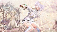 Rose Duelist (Duchess Flux) Tags: crystalheart japonica cureless kotte disorderly enfersombre catwa ghoul poseidon teabunny cubiccherry boildegg free fantasy secondlife sl