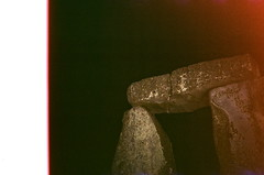 Stonehenge summer solstice 2018 (esmeelily) Tags: 35mm film disposable haze flare light leak lightleak experimental photography damaged distorted expired pagan druid solstice paganism stonehenge summer analog is dead lomo lomography camera toy kodak colorplus 200