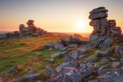 Great Staple Tor (Rich Walker75) Tags: dartmoor devon landscape landscapes landscapephotography landmark landmarks tor rock rocks granite sunset sky sun canon england eos efs1585mmisusm eos80d