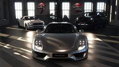 Garage (nikitin92) Tags: game screenshots vidoegame car racing porsche 918 spyder ford mustang gt fastback mercedes benz x class germany america thecrew2 pc 4k