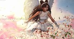 New Post: ∞Forever Twenty One∞ LOTD 585 Angelic Soul... (Forever Twenty One Owner) Tags: catwa maitreya glamaffair moon moonamore blueberry silveryk thecrystalheart magic fashion photography secondlife