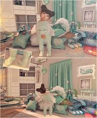 Featuring: #LittleStars #NinetyNine #Basil #Muddpuddles #PlusMuchMore (♥ Ellie ♥ Oh Pie Gosh ♥) Tags: littlestars basil muddpuddles doe lemomo tarte bunbun silentsparrow halfdeer blue toddleedoo secondlife blog outfit furniture decoration