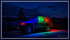 JimsCar_1088 (bjarne.winkler) Tags: waiting for milky way we light painted jim bruch car alta ca