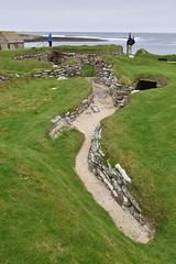 Down Your Street (PLawston) Tags: uk britain scotland orkney mainland skara brae neolithic village street