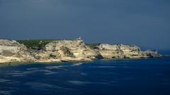 Bonifacio coast view II (Funkraft) Tags: corsica korsika corse riff küste caost see meer felsen leuchtturm