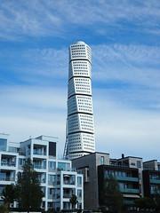 Turning Torso de Santiago Calatrava (tgrauros) Tags: malmö suècia sverige sweden edificiturningtorso santiagocalatrava