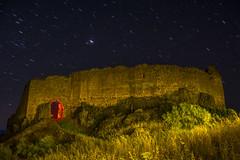 DSC_3749 (Jesus DTT) Tags: castle castillo piedrabuena nocturna lightpainting stars startrails miraflores trazas trails