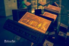 Ancient Holy Quran Mus'hafs at Kuala Lumpur Islamic Arts Museum, Kuala Lumpur, Malaysia (BlueLunarRose) Tags: holyquran mushaf book books holy islam islamic arts islamicartsmuseum museum kualalumpur malaysia sonyalphadslra200 sal1855 bluelunarrose