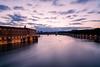 Toulouse, the evening (glarigno) Tags: river evening garonne toulouse france europe europa fleuve soir exposure colors lights