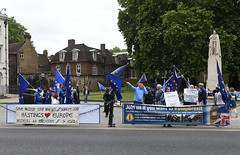 Img634628nxi_conv (veryamateurish) Tags: london westminster parliament housesofparliament abingdonstreet demonstration protest eu europeanunion brexit flags