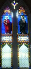 [63183] Redbourne : St Thadeus & St Matthias (Budby) Tags: redbourne lincolnshire church churchesconservationtrust window stainedglass