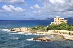 Alghero (@WineAlchemy1) Tags: alghero sardinia italy sardegna seascape cliffs waves beach mediterranean northwestcoast capocaccia