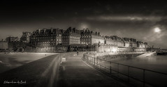 Saint Malo 2018 (EBoss Fotografie) Tags: saintmalo france dark canon brittany bretagne sky clouds sea harbour beach light landscape outdoors city soe twop