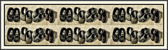 48 (Bob R.L. Evans) Tags: surreal abstract composition unusual irreverent humor shoes pattern repetition rhythm