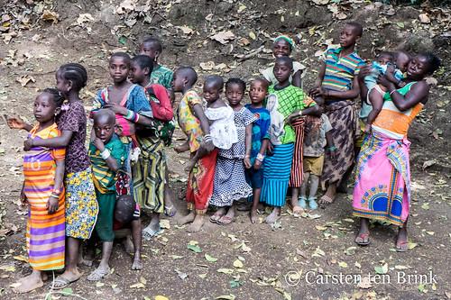 Silakoro children
